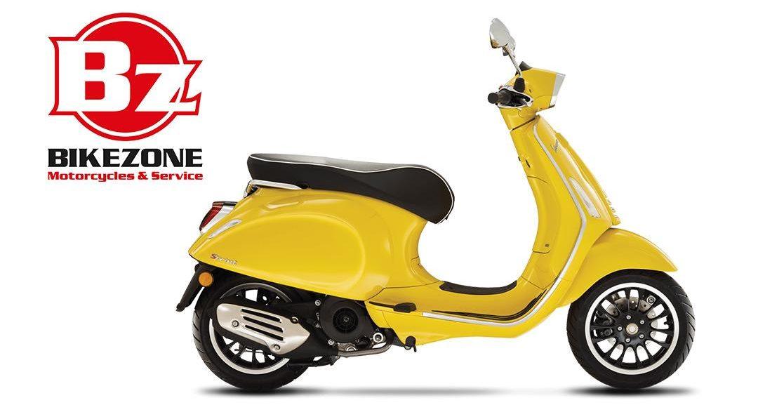 Vespa Sprint 125 Euro 5 - bikezone milano - concessionaria vespa milano